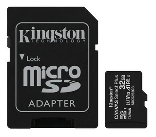 Tarjeta De Memoria Kingston Sdcs Canvas Select Con Adaptador