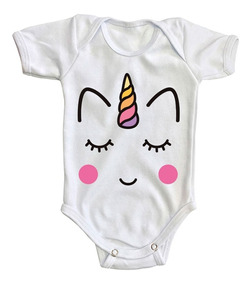f384e53d6 Pañalero Unicornio Body Bebé Baby Ropa Caballo Niña Mameluco