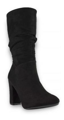 Botas Botines Tacon Dama Zapatos Mujer Moda. Marca Taguesi