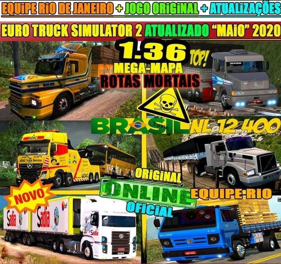 Euro Truck Simulator 2 Brasil 2020 1.36 Original Pc Steam