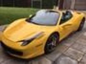 Ferrari 458 Italia, Spider Conversivel, Um Lindo Carro
