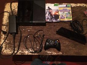 Xbox 360 Com Um Mes De Uso Com Kinect