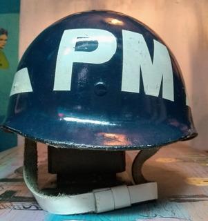 Casco Militar Policia Militar Original Antiguo