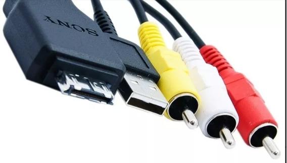 Cabo De Áudio E Vídeo Usb P/câmeras Sony Dsc-hx-1h20 W230