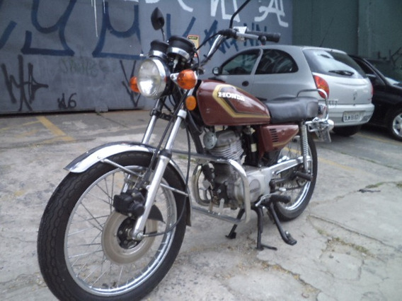 Honda Ml 125 1982 Raridade Moto De Coleção Un.dono