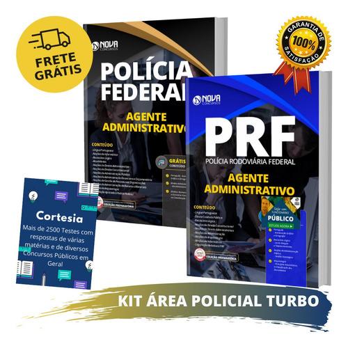 Kit Turbo Apostila Prf E Pf - Agente Administrativo
