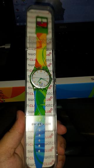Relógio Olimpíadas 2016 Swatch Unissex Original Ed. Especial