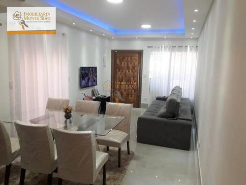 Sobrado Com 3 Dormitórios À Venda, 140 M² Por R$ 560.000,00 - Jardim Adriana - Guarulhos/sp - So0206