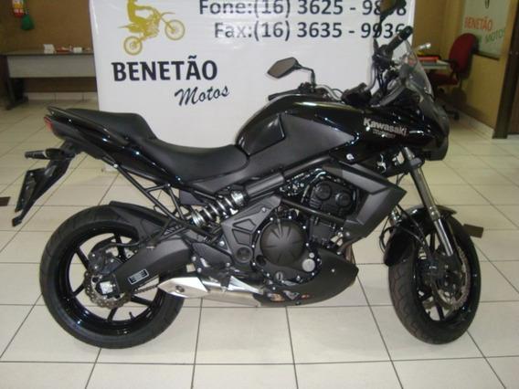 Kawasaki Versys 650 Preto 2012