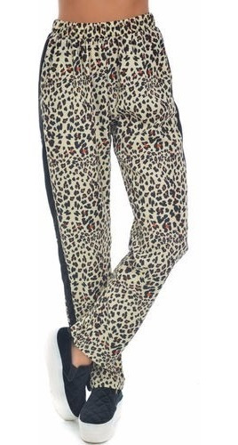 47 Street Pantalon Babucha Animal Print Promo