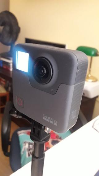 Câmera De Ação Gopro Fusion 360° Vídeo Foto Usada