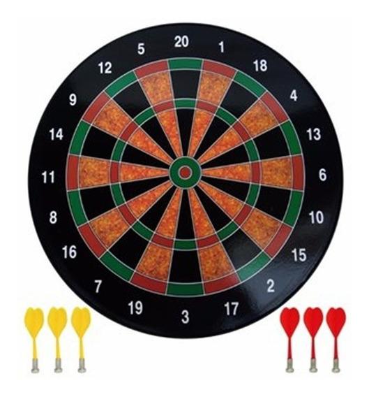Jogo De Dardo Magnético Com 6 Dardos E Alvo De 40,5cm