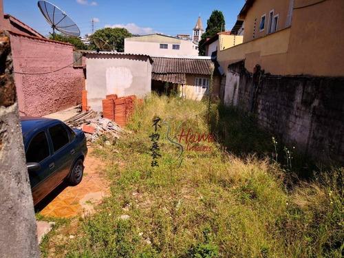 Imagem 1 de 1 de Terreno À Venda, 125 M² Por R$ 235.000,00 - Chácara São João - São Paulo/sp - Te0114