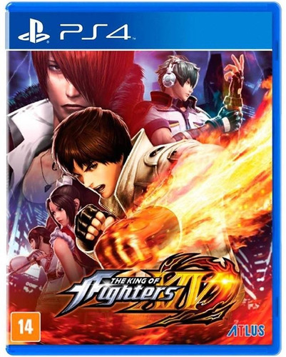 The King Of Fighters Xiv Ps4 Lacrado Mídia Física + Brinde