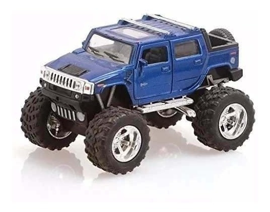 Hummer H2 Off Road 13 Cm Pull Back Escala 1/36 Ploppy 362350