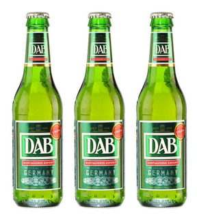 Cerveza Dab Dortmunder Alemania Importada Pack 6 Porron 330