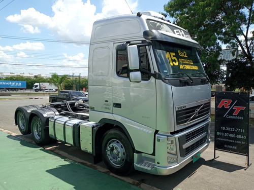 Volvo Fh460 6x2 Ano 2015 Teto Alto Automatico Scania G420 Mb
