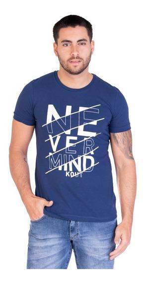 Remera Nevermind - Kout Hombre