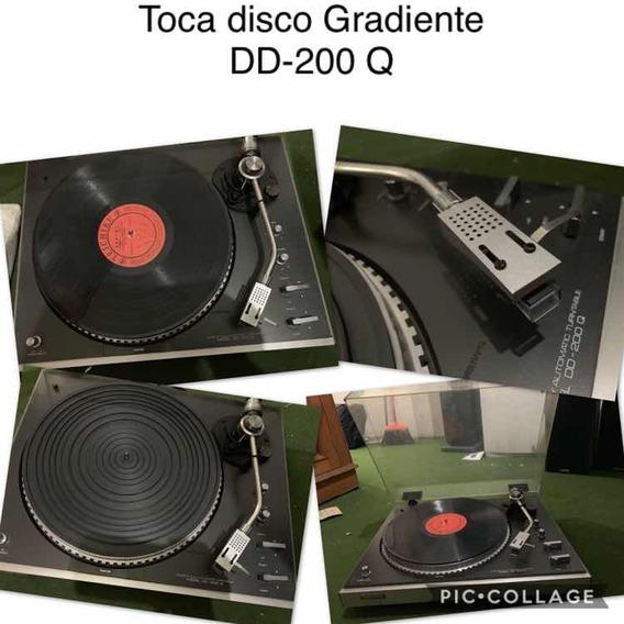 Toca Discos Vintage Gradiente Dd 200q