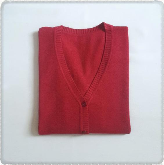 Saco De Hilo Y Lycra - Saquitos Sweaters Uniformes De Mujer