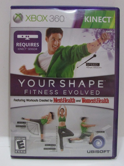 Your Shape Fitness Evolved - Game Xbox 360 Completo Original