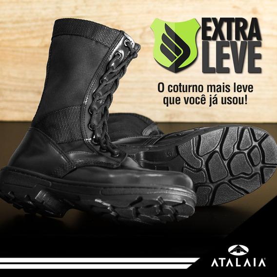 Coturno Exército - Extra Leve Atalaia Original S/ Zíper