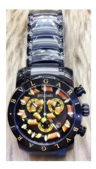 Relógio Bulgari Masculino Relógios De Pulso