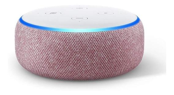 Echo Dot 3ra Generación - Rosado Alexa 50v - Envio Gratis