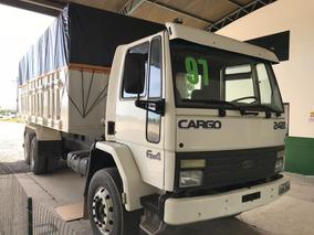 Cargo 2422 6x4 Caçamba Agrícola De 6,5 Comp E 2 De Altura