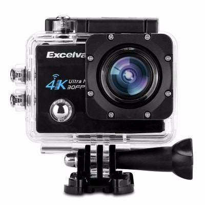 Câmera Excelvan Q8 4k 2 Polegadas De Exibição Wifi