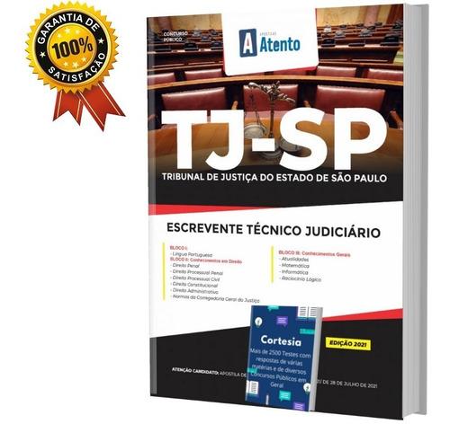 Apostila Escrevente Técnico Judiciário Apostila Tj Sp