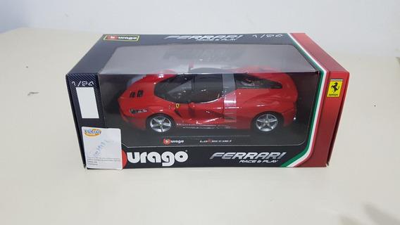 Miniatura Ferrari La Ferrari Burago - Metal 1/24