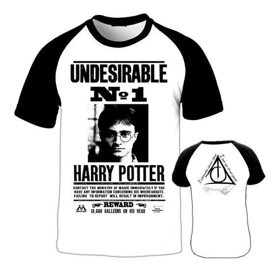 Camiseta Harry Potter Anúncio Procurado