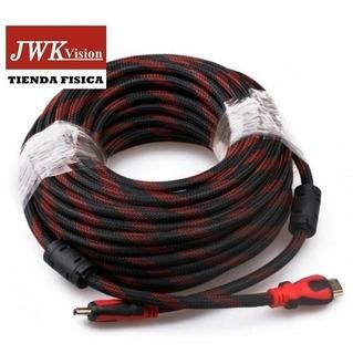 Cable Hdmi 30 Mts Full Hd 1080p 3d Bluray Jwk Vision