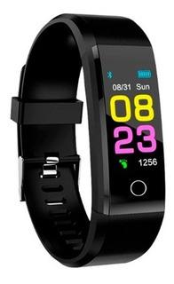 Pulseira Inteligente Fitness Monitor Cardíaco - Produto No Brasil - Frete Grátis