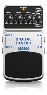 Pedal Digital Behringer Dr600 Pedal Reverb