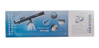 Galileo Telescopio Refractor Con Trípode F500x50