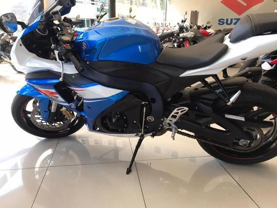 Suzuki Gsx R 1000 Srad 2014 Azul E Branca Freio Brembo