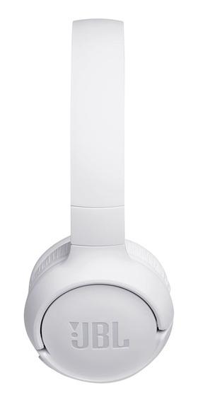 Headphone Jbl Tune Jblt500btwht Bluetooth Branco C/microfone