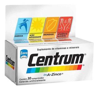 2x Centrum Suplemento Completo A A Zinco C/ 30 Comp.