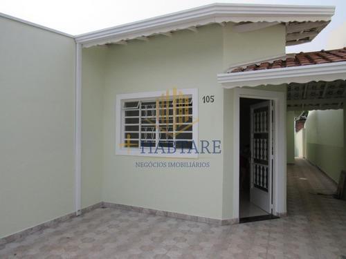 Casa Para Venda Em Hortolândia, Loteamento Remanso Campineiro, 2 Dormitórios, 2 Banheiros, 2 Vagas - Casa 423_1-1758201