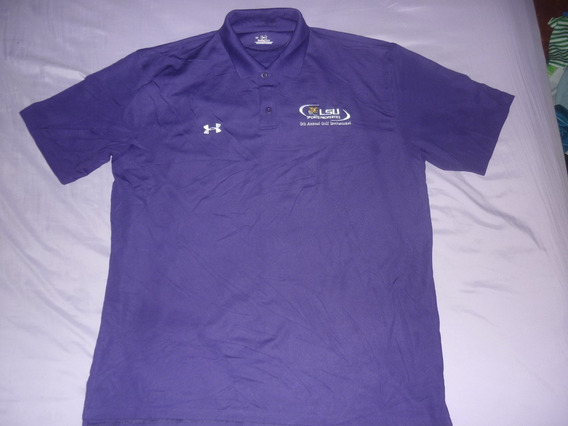 L Chomba Golf Under Armour Lsu Talle L Louisiana Art 16945
