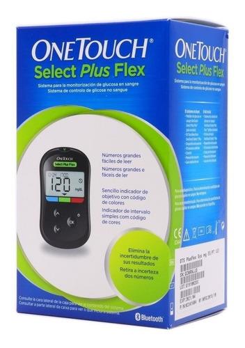 Medidor Glucosa One Touch Select Plus Flex Glucometro