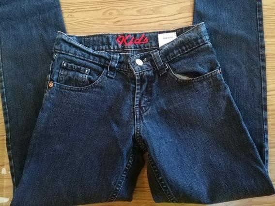 Lote De 5 Pantalones De Mezclilla Pará Niño En Talla :12, 14