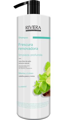 Shampoo Riviera 1 Lt. Menta Y Limon