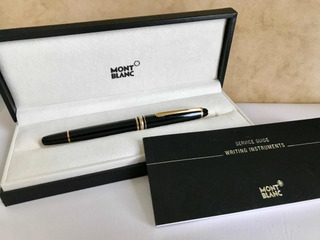 Pluma Montblanc Classique Ball Point Como Nueva Con Estuche