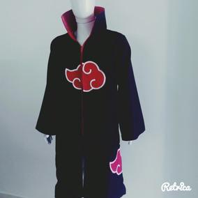 Manto Capa Akatsuki/toda Forrada Vermelho Gola Dura