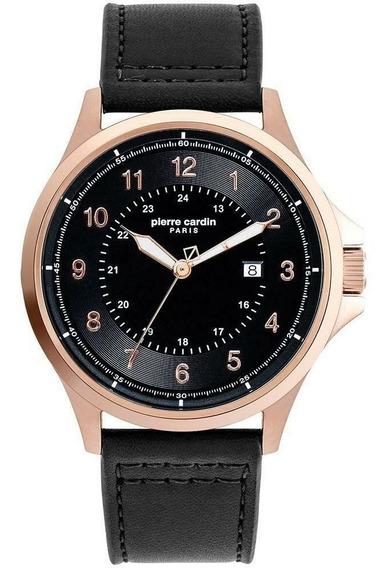 Reloj Pierre Cardin A.pc902381f113 Negro-oro Rosa De Hombre