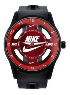 Reloj Nike Sport Reloj Deportivo Negro/rojo A 80 Soles !!