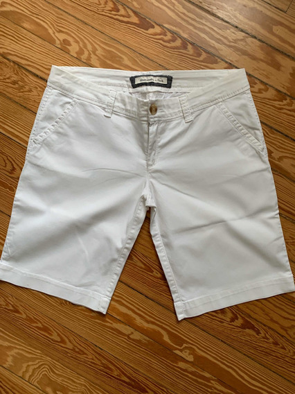 Short Abercrombie & Fitch Mujer Blanca Talle M